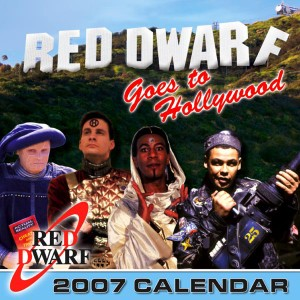 Red Dwarf 2007 calendar cover