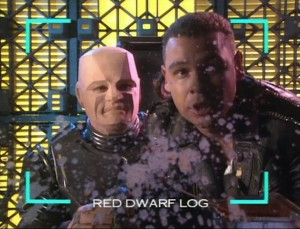 Kryten and Lister link on Smeg Outs