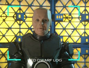 Kryten presenting Smeg Outs WEIRDLY