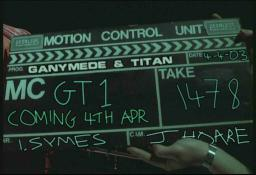 G&T launch clapperboard
