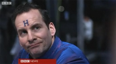 Rimmer's funny face