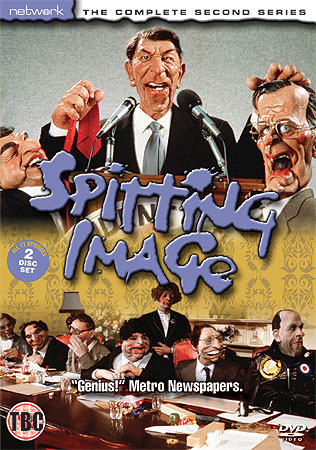 Spitting Image Series 2 DVD cover