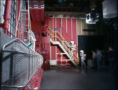 Recording the shot of side of the ship for Confidence and Paranoia. Beautiful, isn't it?