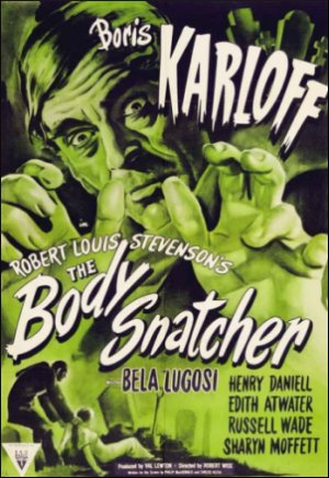 Boris Karloff 'The Body Snatcher' poster