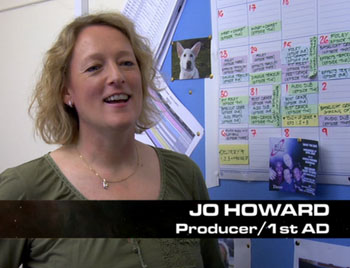 Jo Howard in The Making Of Back to Earth