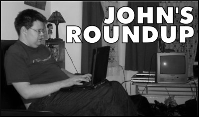 John's Roundup logo. What an ugly cunt. With thanks to SingingPotato for the piccy. Who isn't an ugly cunt.