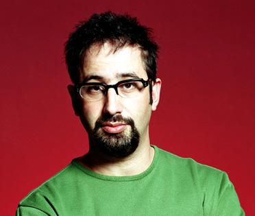 See this picture? That's David Baddiel, that is.