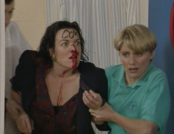 Brittas Series 4 DVD - Hit. Blood. Everywhere.