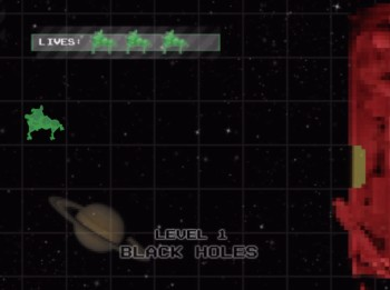 Beat The Geek - bonus game, 'Black Holes'