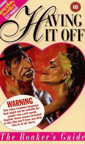 Having It Off VHS cover