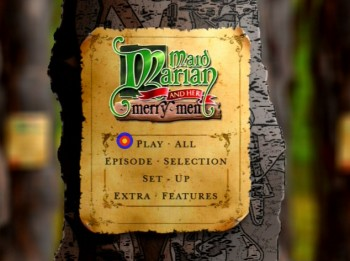 Maid Marian Series 1 DVD - main menu