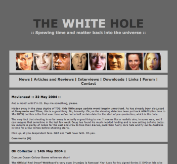 The White Hole, in 2004.