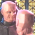 Kryten & Spare Head 3, most likely saying SMEG.