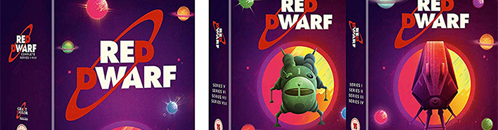 Red Dwarf: Series I-VIII Bluray Review featured image
