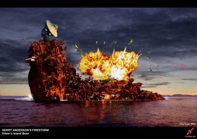 Explosion concept art
