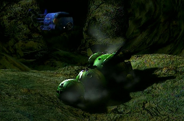 Shot of Starbug/Blue Midget from Remastered