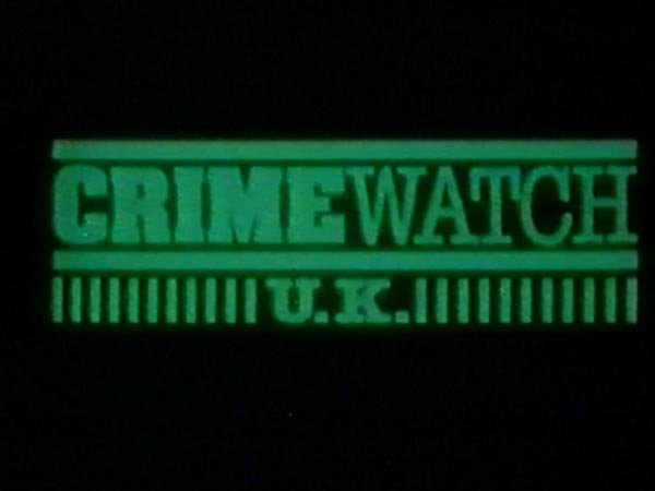 Crimewatch U.K. logo because I am doing a big funny