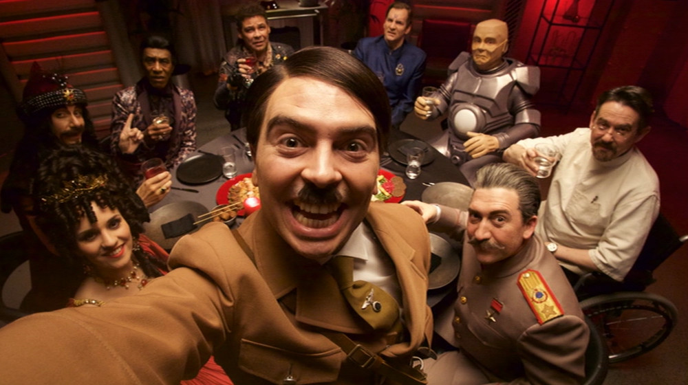 A selfie with Hitler