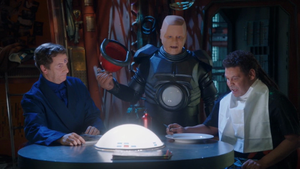 Kryten forgetting to make Lister's breakfast like a twat