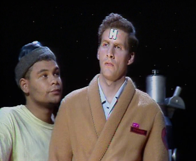 Lister giving Rimmer something to live for