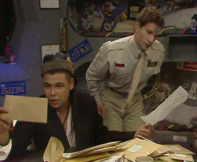 Rimmer finding out about his Outland Revenue bill