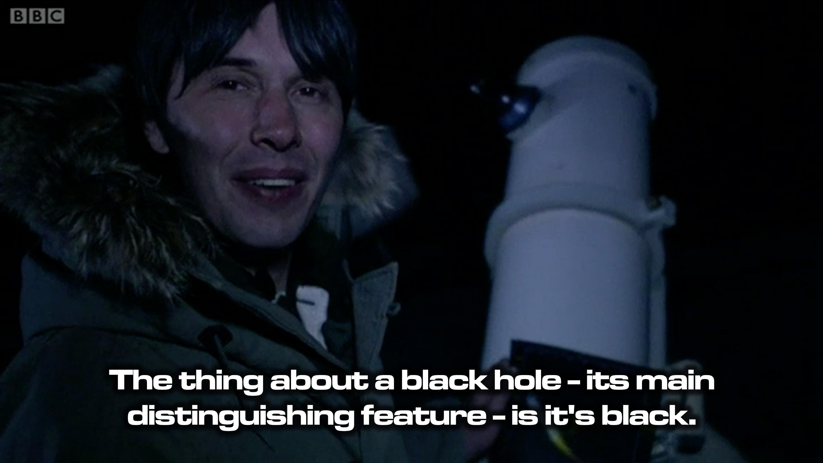 Brian Cox on black holes