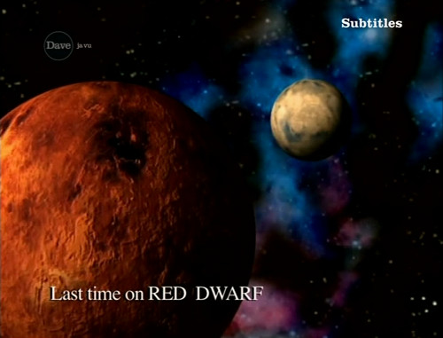 Last Time on Red Dwarf