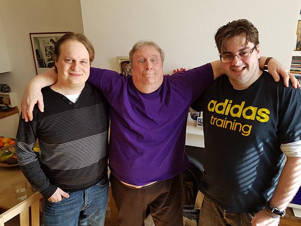 Ian Symes, Mac McDonald, Danny Stephenson