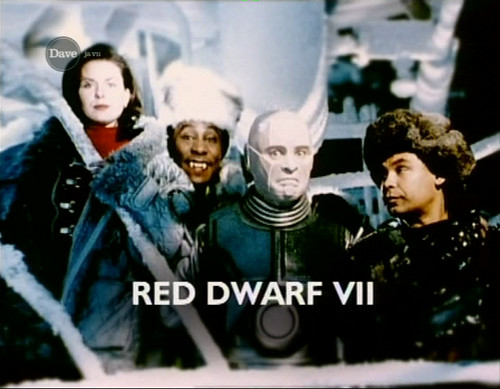 Old Red Dwarf VII bumper