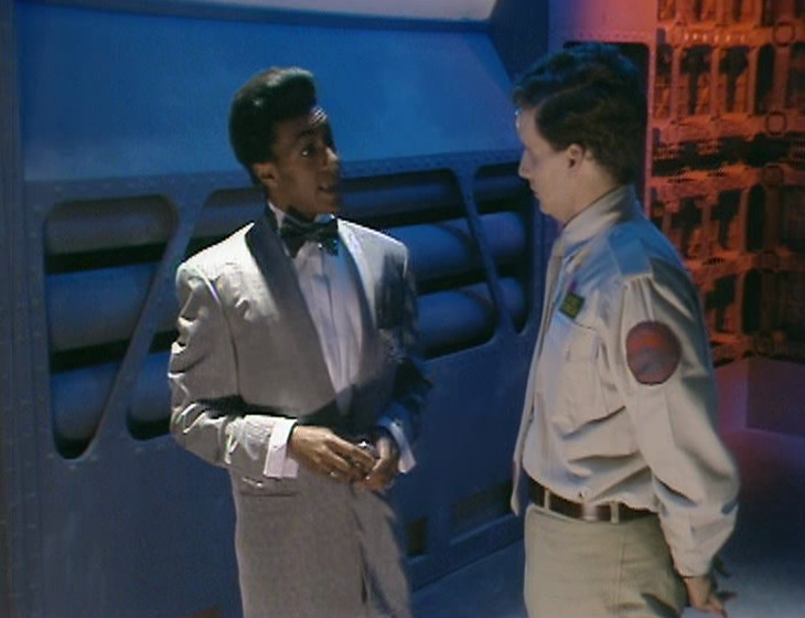 Rimmer and Cat, again