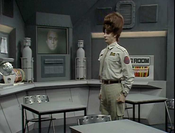 Rimmer and Holly in the Teaching Room again