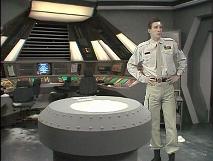 Rimmer being a twat in the Series 1 Drive Room