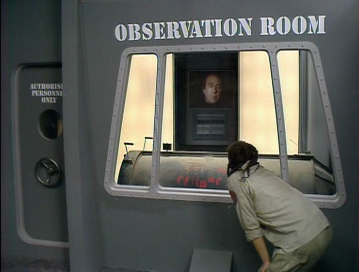 Lister in the Observation Room