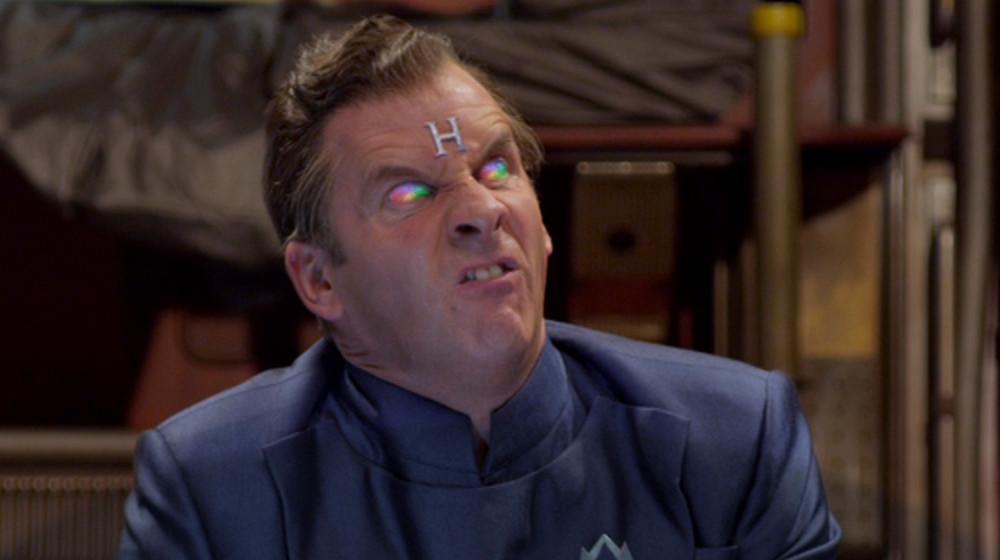 Rimmer with spinning beachball of doom eyes