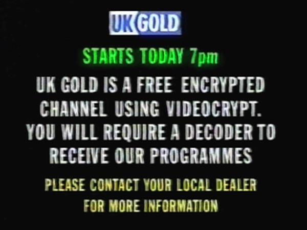 UK Gold pre-launch caption